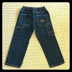 Kids Wrangler Jeans in Dark Wash EUC